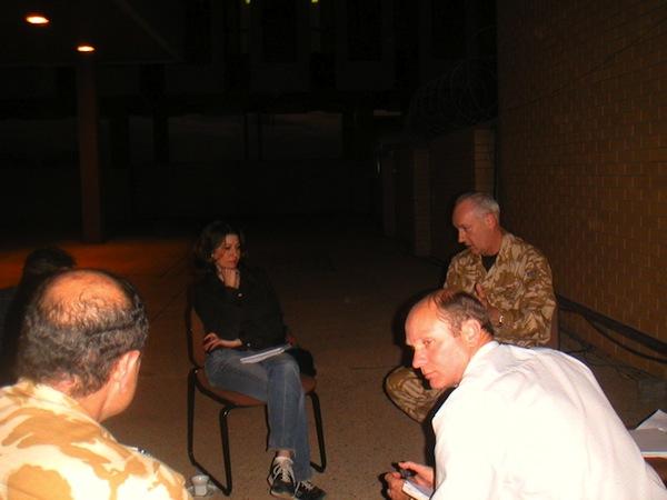 Briefing-in-Basra
