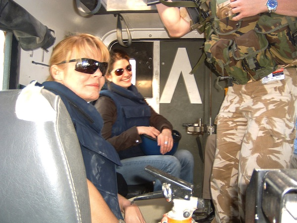 In-the-back-of-an-armoured-vehicle-basra