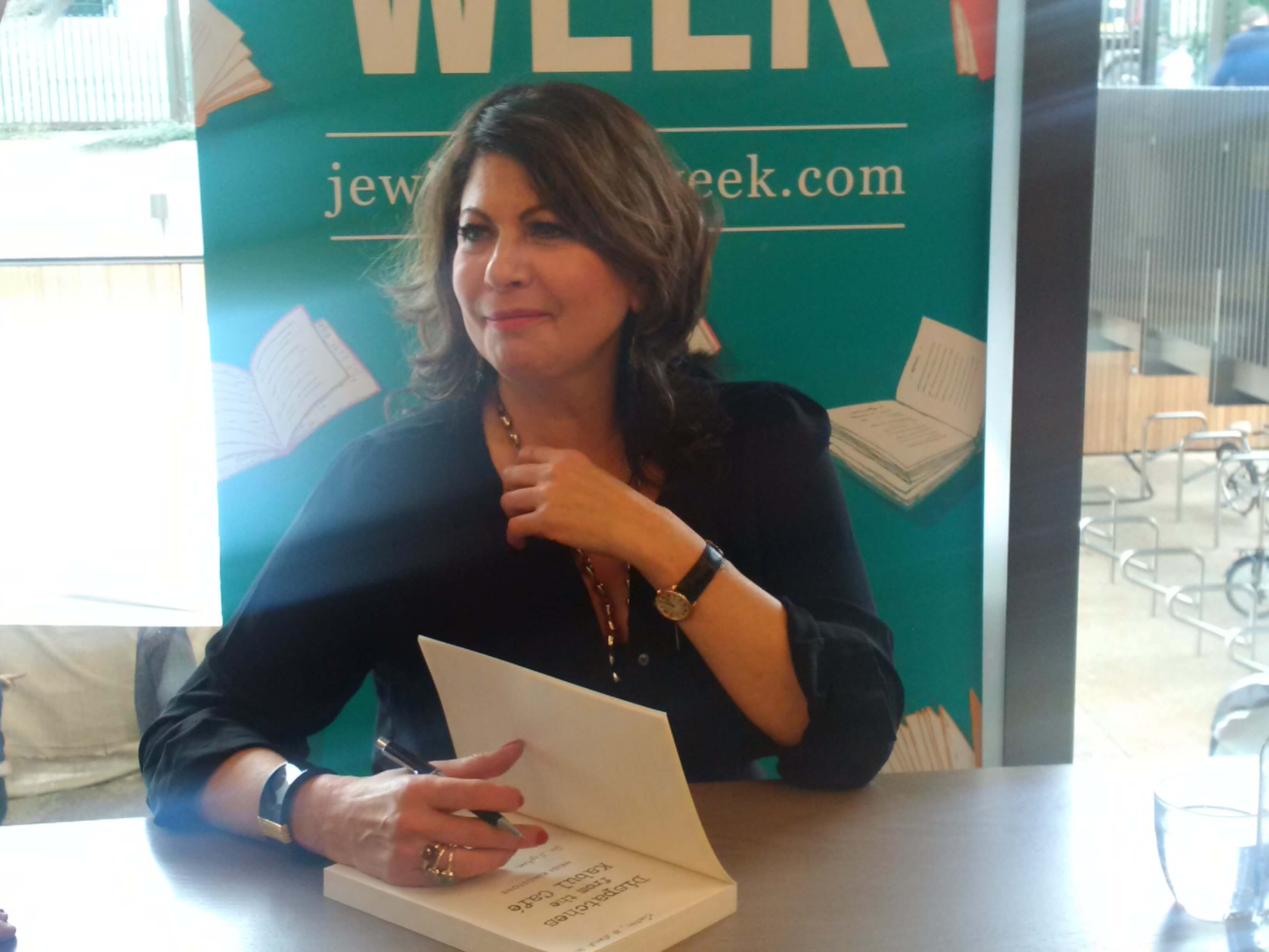 book signing at JW3