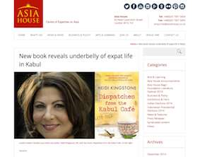 Asia House book review heidi kingstone