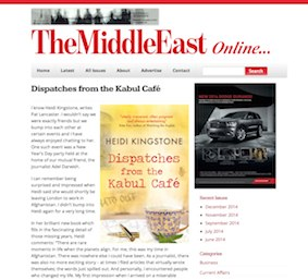 The Middle East Magazine book review heidi kingstone